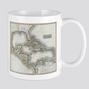 Vintage Map of The Caribbean (1814) Mugs